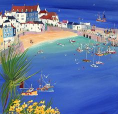Sue McDonald - Early Summer Morning, St Ives.