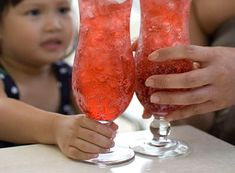 Coctel sin alcohol, brindemos con los niños por el nuevo año…