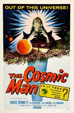 Sci-Fi Poster Countdown: The Cosmic Man