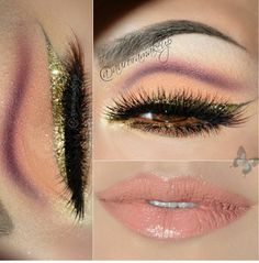 Eye Kandy Cosmetics Aurora_Amor por el maquillaje used Candy Coin for this gorgeous look. Check her page for details