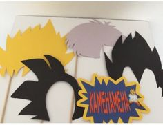 Dragon Ball Z Party Photo Props  in Home & Garden, Greeting Cards & Party Supply, Party Supplies   eBay - Visit now for 3D Dragon Ball Z compression shirts now on sale! #dragonball #dbz #dragonballsuper