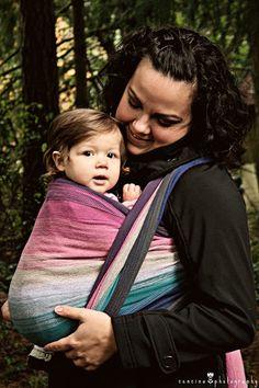 """Amazing Grace"" by Rockabye Wraps Handwoven love! #babywearing"