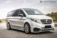 Carlex Design gives Mercedes-Benz Vito a more aggressive look outside and in.