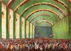 "Saatchi Art Artist Romeo Melikian; Painting, ""Crowd series-1"" #art"