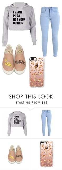"""Pizza Party (not complete)"" by kittykat283 on Polyvore featuring Casetify"