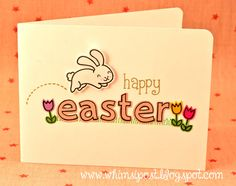 Lawn Fawn - Happy Easter, Quinn's ABCs stamps and dies _ Whimsipost: Happy Easter!
