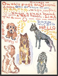 Citation: Moses Soyer letter to Daniel Soyer, ca. 1964 . Moses Soyer papers, Archives of American Art, Smithsonian Institution.