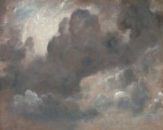 Cloud Study, 1822 by  John Constable