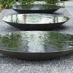 Steel Water Bowl | The Pot Company. Garden Plant Pots | Garden Planters | Planters | Terracotta Pots | Large Plant Pots