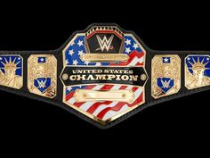 In July then WWF, now WWE, brought back the title and renamed it the WWE US Championship. Wwe United States Championship, Wwe Championship Belts, Wwe Edge, Wwe Belts, Wwe Tna, Professional Wrestling, Wwe Wrestlers, Roman Reigns, My Favorite Part