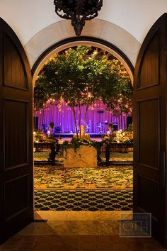 Wedding Reception at the Cloister Ballroom in Sea Island