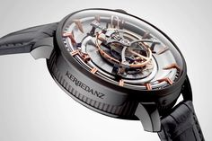 Kerbedanz Unveils the World's Largest Tourbillon Watch