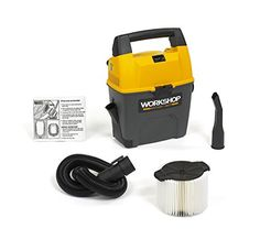 WORKSHOP Wet Dry Vac WS0300VA Portable Wet Dry Vacuum Cleaner, 3-Gallon Small Shop Vacuum Cleaner, 3... #deals