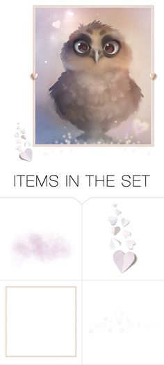 """Owl Magic"" by funkyjunkygypsy ❤ liked on Polyvore featuring art"