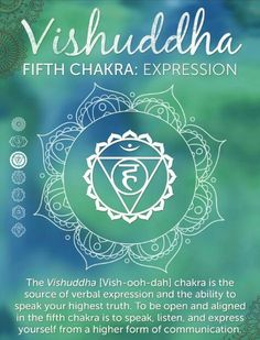Fifth Chakra: Expression