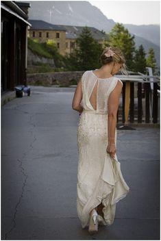Mature bride wedding dress by Vanessa Fry Photography
