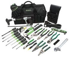 GreenLee tool kit for aspiring electricians