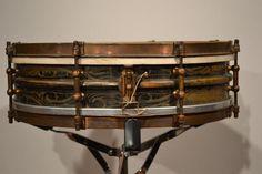 "Ludwig 4x14"" Black Beauty Snare Drum Papa Jo"