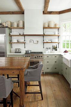 30 Fabulous Rustic Farmhouse Kitchen Ideas