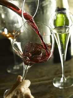 Experience the difference of a decanted wine.