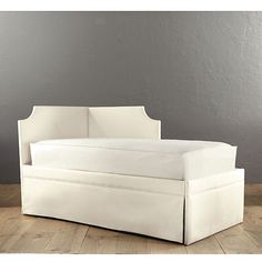 Isabella Left Corner Daybed for den space--extra seating and sleeping space when needed.  Trundle underneath!