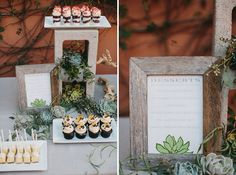 Cinderblock + Succulent dessert table with our yummy treats at Lauren and Sean's wedding in Malibu! Wedding Desserts, Wedding Decorations, Table Decorations, Centerpieces, Chic Wedding, Wedding Trends, Green Wedding, Wedding Shoes, Wedding Blog