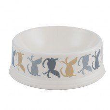 Monty Dog Bowl made by Poppy and Rufus Ltd in - Dog Toy Storage, Dog Treat Jar, Dog Blanket, Dog Feeding, Pet Bowls, Dog Accessories, Dog Design, Poppies, Pets