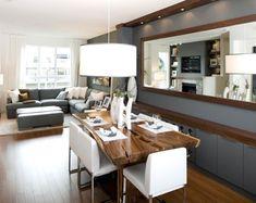 Grayson Manor behind the scenes | Open floor plan | Pinterest