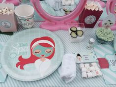 Spa Birthday Party Ideas | Photo 1 of 34 | Catch My Party