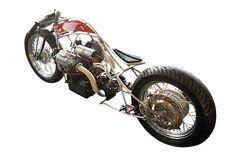 Moto Guzzi 850 'Bellerofonte' by Officine Rossopuro