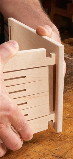 CNC Spring Joint Box - Popular Woodworking Magazine