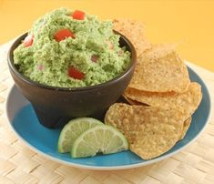 Low Fat Guacamole | Happy Herbivore