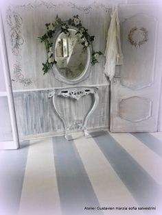 Marzia-Sofia Salvestrini  Shabby è Chic! : Pavimenti in legno dipinti con Shabby Chalk