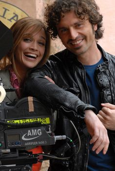 Guido Caprino con Lara Rubino