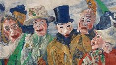 James Ensor Belge  ames Sidney Ensor (Ostend, 13 April 1860-19 November 1949) was the son of an English father (James Frederic) and a Belgian mother (Maria Catharina Haegheman). With an eye on obtaining the title of baron, only in 1929 did Ensor seek naturalisation. Up until that point he retained his father's nationality. The family operated a souvenir and curiosity shop in Ostend and boarded rooms out to summer guests. The young Ensor attended the College of the Blessed Virgin in Ostend.