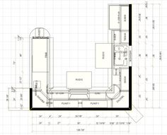 Modern Kitchen Layout Plans floor plan option 3 | home ideas | pinterest | kitchen floor plans