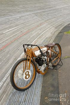 Harley-davidson Board Track Racer Photograph #harleydavidsonchoppersbikes