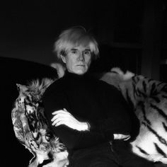 Andy Warhol by Jeannette Montgomery Barron h #Andy Warhol #celebrity