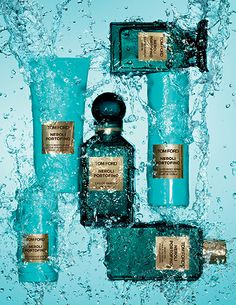 NEROLI PORTOFINO: Vibrant. Sparkling. Transportive. | To TOM FORD, this scent perfectly captures the cool breezes, sparkling clear water and lush foliage of the Italian Rivera.  His reinvention of a classic eau de cologne features crisp citrus oils, surprising floral notes and amber undertones to leave a splashy yet substantive impression.