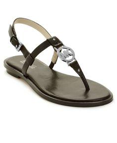 Bought. Michael Kors Shoes, Sondra Flat Sandals