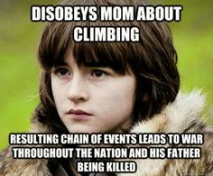 #GameOfThrones Bran Is The Reason For Game Of Thrones   Meme   Game Of Thrones Memes and Quotes
