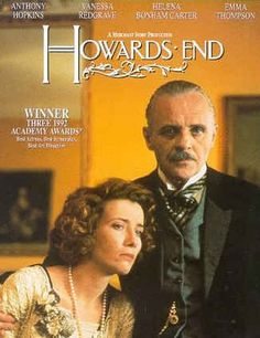 Howards End movie poster-Anthony Hopkins