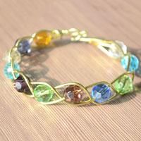 How to Make a 3 Strand Braided Wire Bracelets with Beads - Girl Scout Jeweler Badge