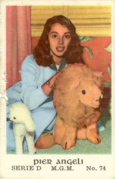 pier angeli with plush friends