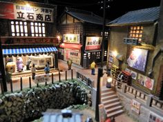 Aesthetic Japan, Tokyo Streets, Scale Models, Animal Crossing, Asia, Miniatures, Game, Crafts, Inspiration