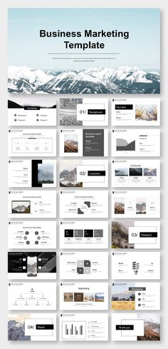 Black & White Creative Business Presentation Template – Original and high quality PowerPoint Templat Business Presentation Templates, Company Presentation, Design Presentation, Professional Presentation, Web Design, Slide Design, Powerpoint Design Templates, Creative Powerpoint, Template Brochure