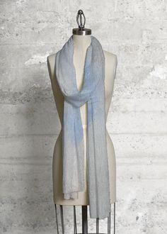 Blue computer landscape by elissa dorfman - Modal Scarf by Elissa Dorfman Vida Design, Dresses For Work, Summer Dresses, Awareness Ribbons, Orange, Studio, Chic, Outfits, Clothes