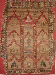 Karaman Prayer Rug Ibrahim Pasa Museum In Istanbul