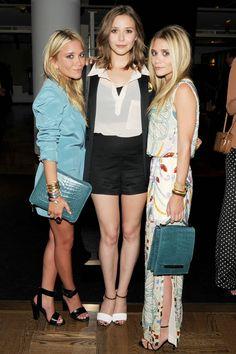 Mary-Kate Olsen, Elizabeth Olsen, and Ashley Olsen