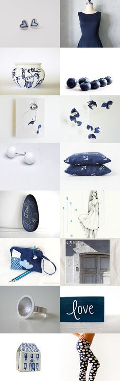 Friday in blue by Anna on Etsy--Pinned with TreasuryPin.com